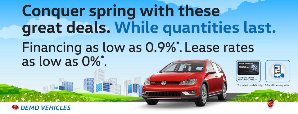 New 2017 Volkswagen Clearout Sale in Toronto