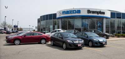 Brampton Automall New Used Car Dealer Honda Kia Mazda
